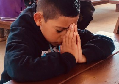 Boy prays copy