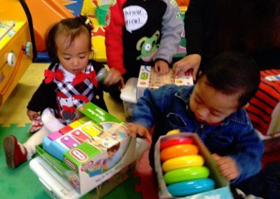 Babies w_ gifts